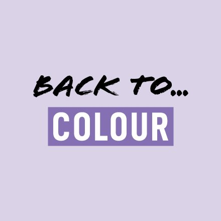 Back to… Colour