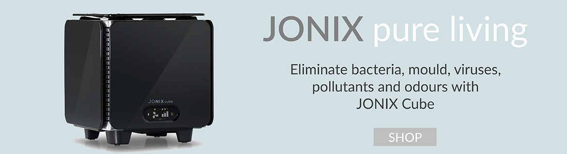 Jonix Air Purifier Cube Banner