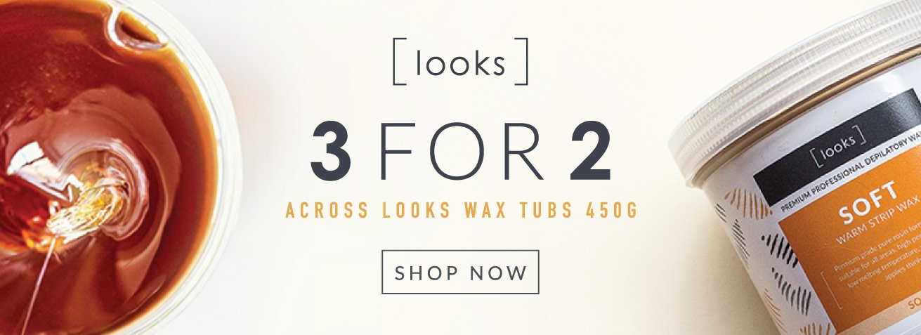 Looks Wax - 3 for 2