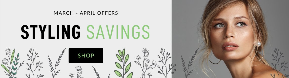 Styling Savings Desktop
