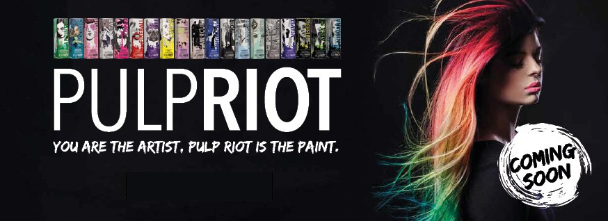 Pulp Riot - Coming Soon Banner