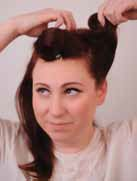 retro hair how to 1