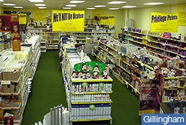 Gillingham store in 1990's