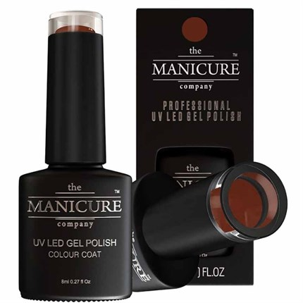 The Manicure Company UV LED Gel Nail Polish 8ml - Brunette Bombshell