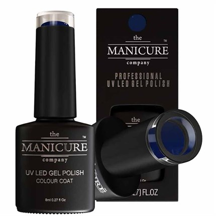 The Manicure Company UV LED Gel Nail Polish 8ml - New To Navy