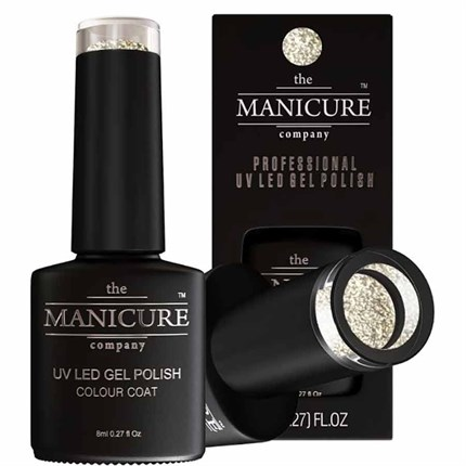 The Manicure Company UV LED Gel Nail Polish 8ml - Platinum Frost