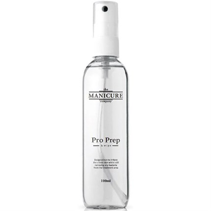 The Manicure Company Pro Prep & Wipe - Nail Dehydrator & Finishing Solution 100ml
