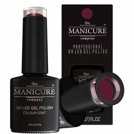The Manicure Company UV LED Gel Nail Polish 8ml - PepperBerry