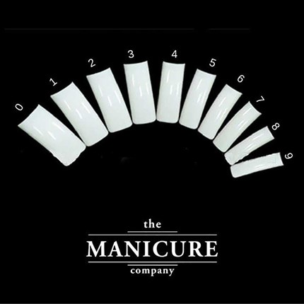 The Manicure Company Full Nail Tips Pk50 - Size 4