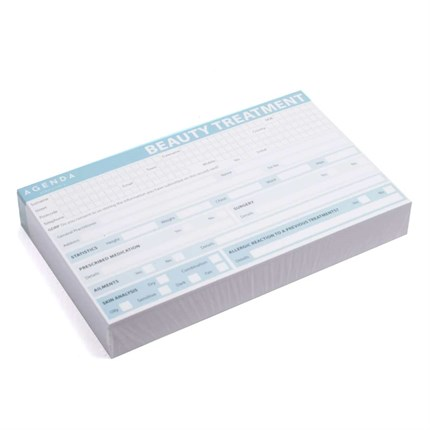 Agenda Beauty Record Cards Pk100