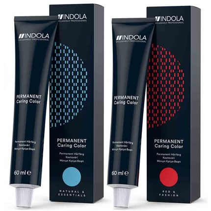 Indola Profession Permanent Caring Color PCC 60ml 6.6 - Dark Blonde Red Natural