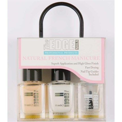 The Edge French Manicure Kit - Natural