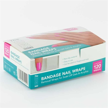 The Edge Bandage Nail Wraps Pk 120
