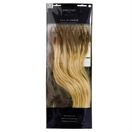 Balmain Ombre Fill-In Extensions Natural Straight Hair 40cm 50pcs - LA