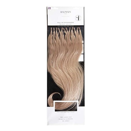 Balmain Fill-In Extensions Natural Straight Hair 40cm 50pcs - 4