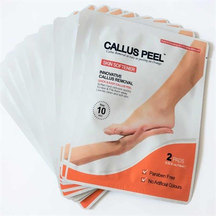 Callus Peel Skin Softener Sachet (2 Patch)
