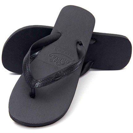 Zohula Black Flip Flops - Medium