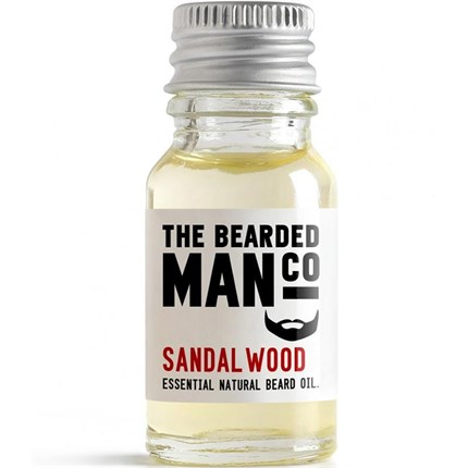The Bearded Man Beard Oil 10ml - Sandalwood