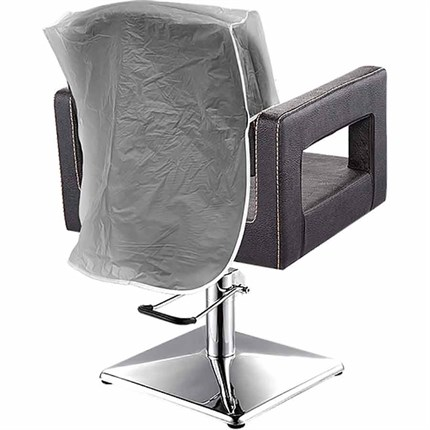 Essentials Chair Back Cover - Clear - 18 inch