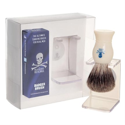 The Bluebeards Revenge Badger Brush & Stand Gift Set