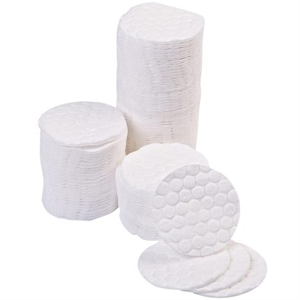 Cotton Cosmetic Pads Pk500 (Embossed)