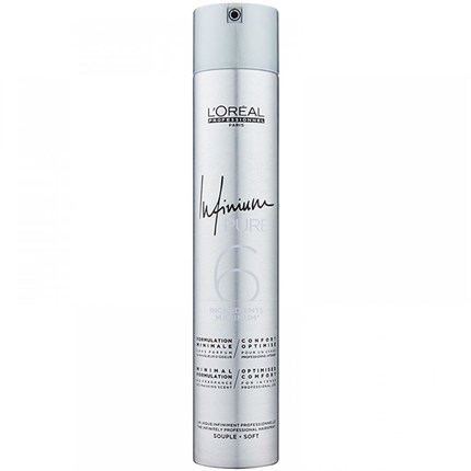 L'Oréal Professionnel Infinium Pure Hairspray 500ml - Regular/Soft Hold