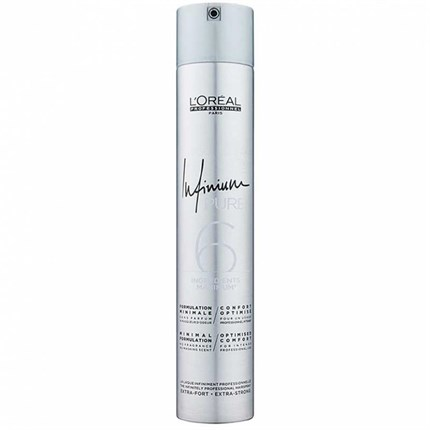 L'Oréal Professionnel Infinium Pure Hairspray 500ml - Extra Strong/Ultimate