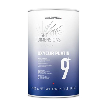 Goldwell Oxycur Platin Dust Free Bleach 500ml Blue