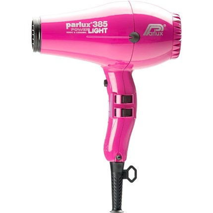 Parlux 385 Power Light Ceramic Ionic Dryer - Pink