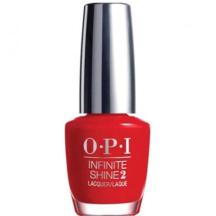 OPI Infinite Shine 15ml - Unequivocally Crimson