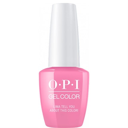 OPI GelColor 15ml - Peru - Lima Tell You About This Colour!