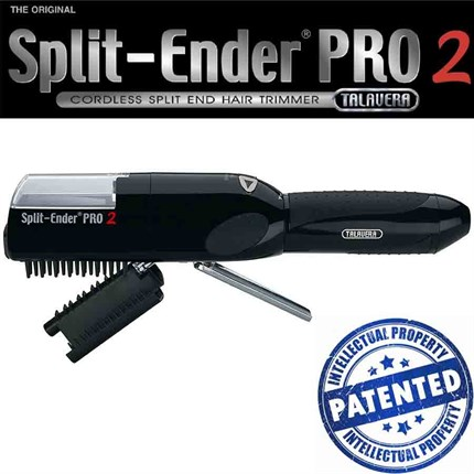 Split-Ender PRO 2 Cordless Split End Hair Trimmer - Black