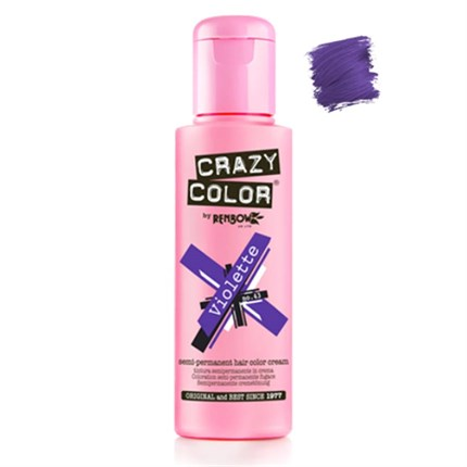 Crazy Color Hair Colour Creme 100ml - Violette