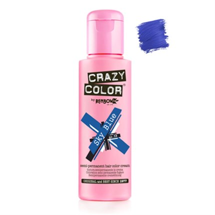 Crazy Color Hair Colour Creme 100ml - Sky Blue