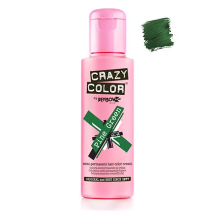 Crazy Color Hair Colour Creme 100ml - Pine Green