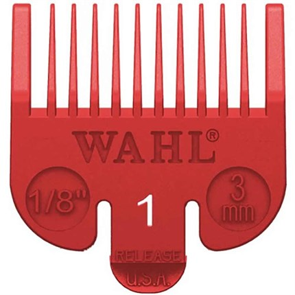 Wahl Attachment Comb - No. 1 (Coloured)