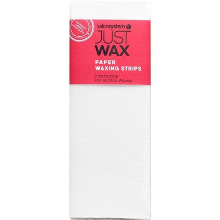 Salon System Just Wax Paper Waxing Strips (100)