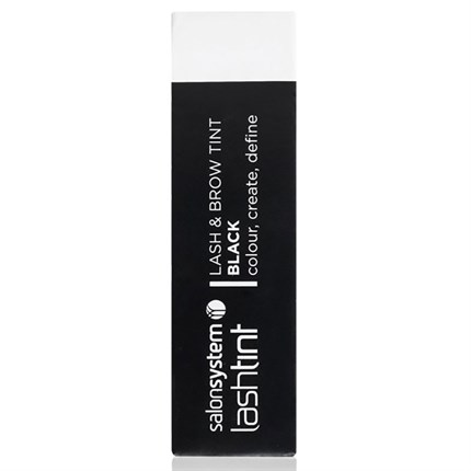 Salon System Lashtint Lash & Brow Tint 15ml - Black