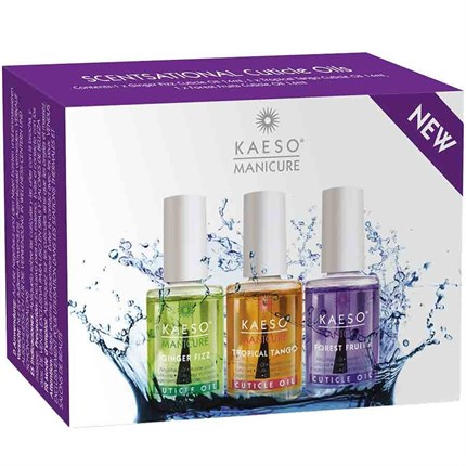 Kaeso Scentsational Cuticle Oil Collection 3 x 15ml