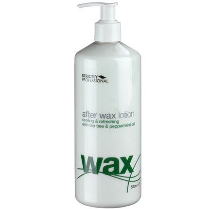 Strictly Professional After Wax Lotion (Tea Tree & Peppermint) 500ml
