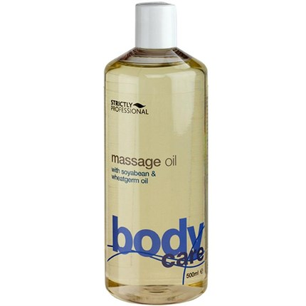 Strictly Professional Massage Oil with Soya Bean & Wheatgerm Oil 500ml