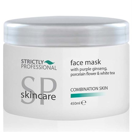 Strictly Professional Face Mask with Purple Ginseng, Porcelain Flower & White Tea 450ml