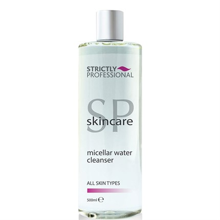 Strictly Professional Micellar Water Cleanser 500ml - All Skin Types