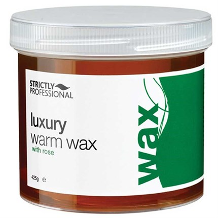 Strictly Professional Luxury Warm Wax with Rose 425g