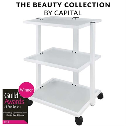 Capital Pro Beauty Trolley - White