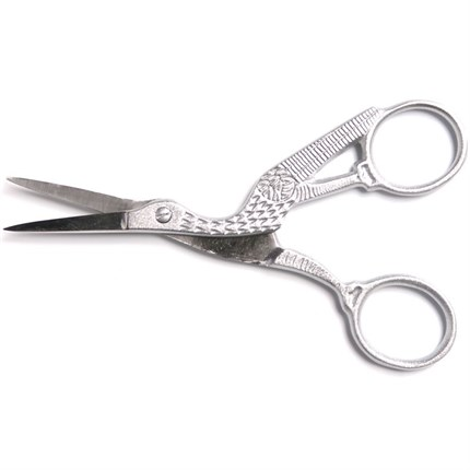 Capital Stork Scissor - Metallic Silver