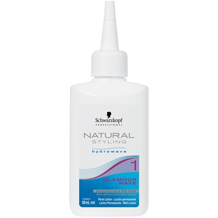Schwarzkopf Natural Styling Hydrowave Glamour Wave Single Perm - 2 (for Tinted/Highlighted Hair)