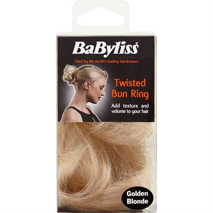 BaByliss Soft Wave Twisted Bun Ring - Golden Blonde