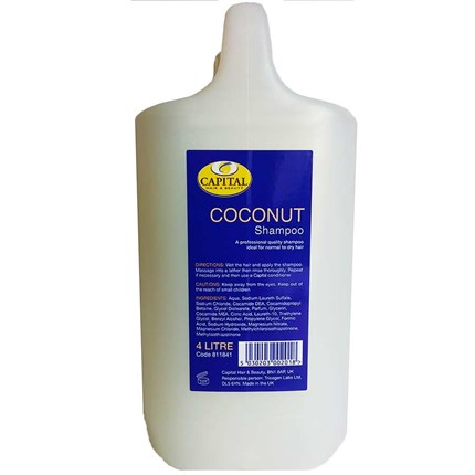 Capital Shampoo 4 Litre - Coconut
