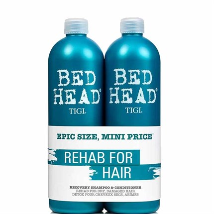 TIGI Bed Head Urban Antidotes Recovery Shampoo/Conditioner 750ml Tween Duo